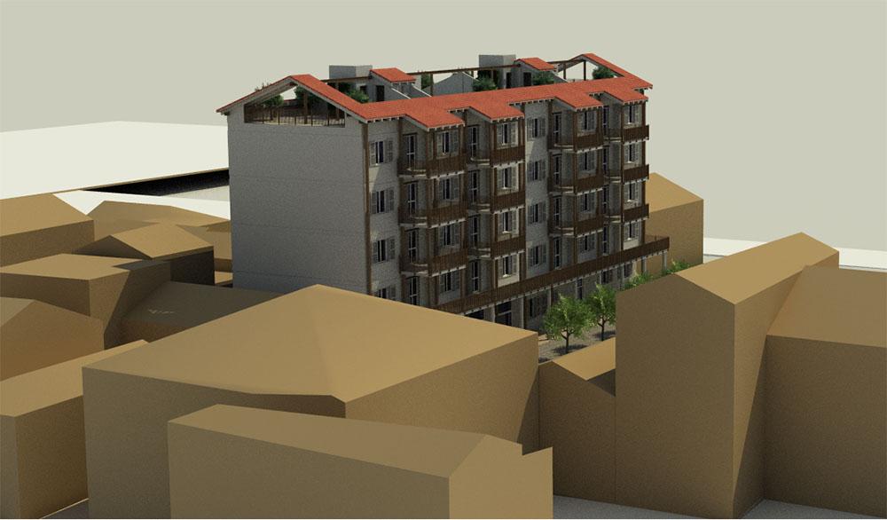 Condominio del Futuro - rendering progetto