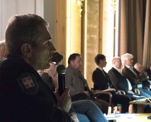 Fabrizio Repetto, Vigili Urbani di Arquata Scrivia