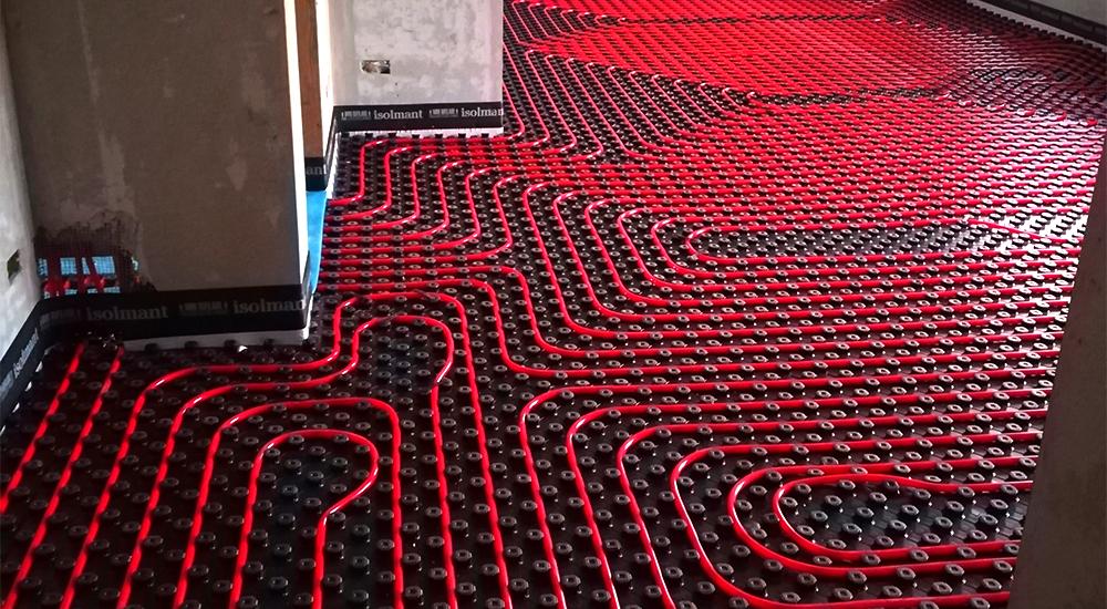immagine pavimento radiante - condominio del futuro